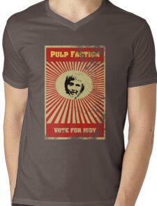 Pulp Faction - Jody Mens V-Neck T-Shirt
