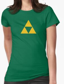 The Legend of Zelda Symbol - Super Smash Bros. (color) Womens Fitted T-Shirt