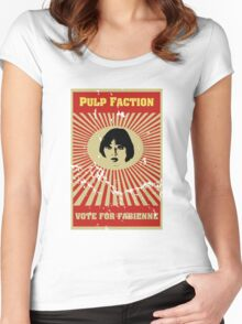 Pulp Faction - Fabienne Women's Fitted Scoop T-Shirt