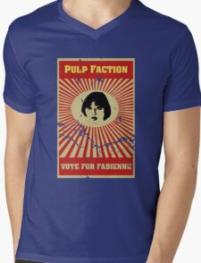 Pulp Faction - Fabienne Mens V-Neck T-Shirt