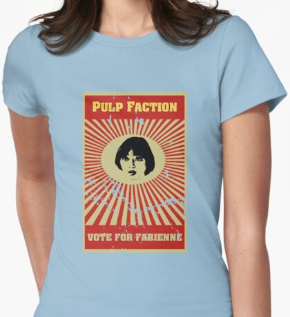 Pulp Faction - Fabienne Womens Fitted T-Shirt