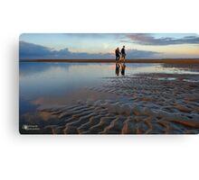 A beach walk... Canvas Print
