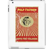 Pulp Faction - Yolanda iPad Case/Skin
