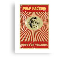 Pulp Faction - Yolanda Canvas Print