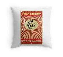 Pulp Faction - Yolanda Throw Pillow