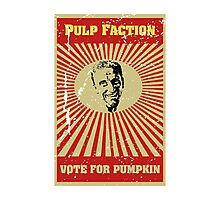 Pulp Faction - Pumpkin Photographic Print