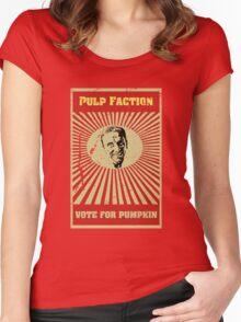Pulp Faction - Pumpkin Women's Fitted Scoop T-Shirt