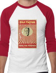 Pulp Faction - Pumpkin Men's Baseball ¾ T-Shirt