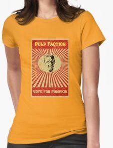 Pulp Faction - Pumpkin Womens T-Shirt