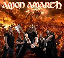 Amon Amarth Fan Art by N647H3W1N