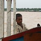 Long day at work on Tonle Sap Lake, Cambodia by Leigh Penfold