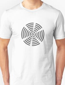 Mandala 32 Back In Black T-Shirt
