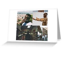 FLATBUSH ZOMBIES COLLAGE Greeting Card