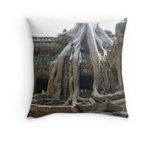 Ta Prohm, Cambodia Throw Pillow