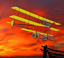 A.V. Roe Triplane 1910 - all products bar duvet by Dennis Melling