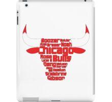 Chicago Bulls iPad Case/Skin