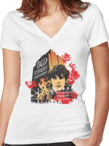10 Storey Love Song Women's Fitted V-Neck T-Shirt