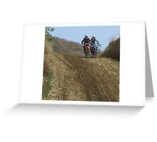 Motocross - Would you like to share? Greeting Card