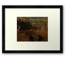 Larn Doom Framed Print