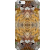 Abstract Mosaic in Earthy Tones iPhone Case/Skin