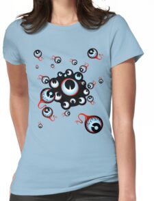 Eye Contact Womens Fitted T-Shirt