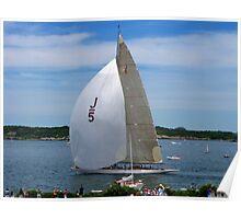 """Ranger"" Sails In Newport Poster"