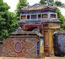 Gates of the Imperial City II - Hue, Vietnam.  by Tiffany Lenoir