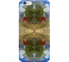 Abstract Mosaic in Blue Brown Green Red iPhone Case/Skin