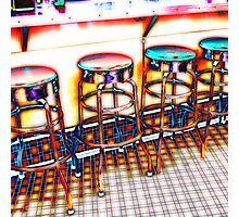 have a seat Photographic Print