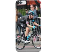 Bradley Wiggins - 2014 Tour of Britain iPhone Case/Skin
