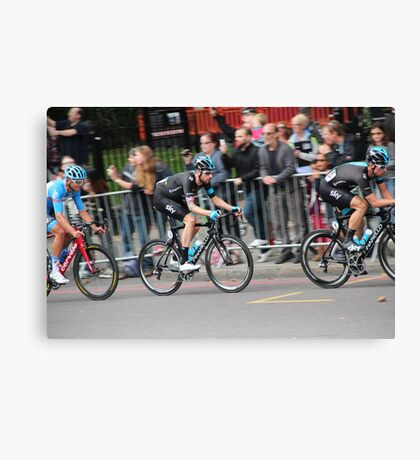 Bradley Wiggins - 2014 Tour of Britain Canvas Print