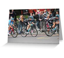 Bradley Wiggins - 2014 Tour of Britain Greeting Card