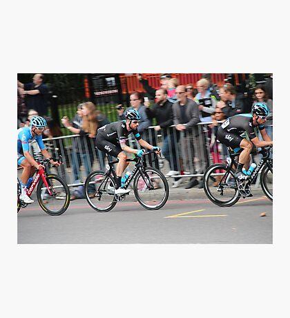 Bradley Wiggins - 2014 Tour of Britain Photographic Print