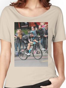 Bradley Wiggins - 2014 Tour of Britain Women's Relaxed Fit T-Shirt