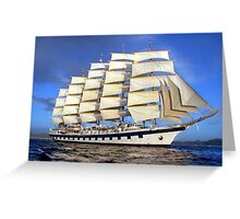 Royal Clipper Greeting Card