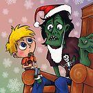Zombie Santa by Steven Novak