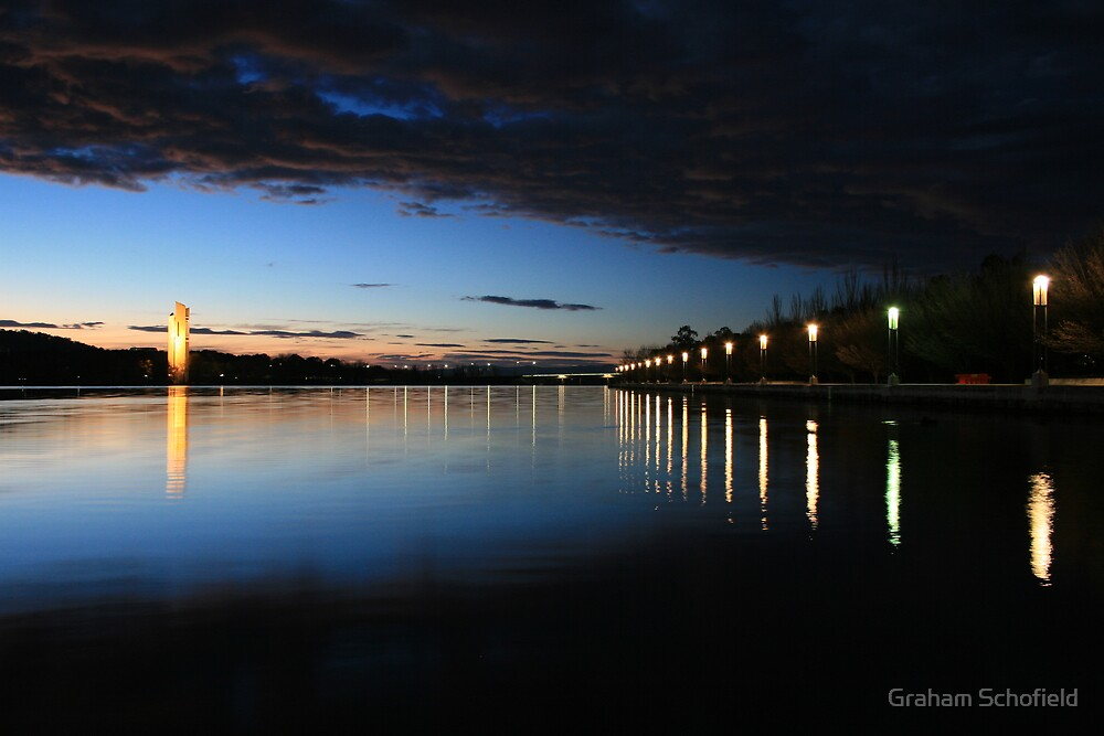 Canberra Dawn by Graham Schofield