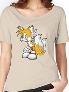 Tails the fox Women's Relaxed Fit T-Shirt