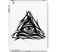 Illuminati Black - Trippy - Simple iPad Case/Skin