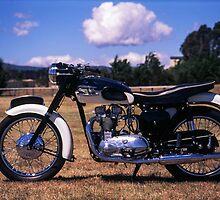 Triumph T100 by Brett Rogers