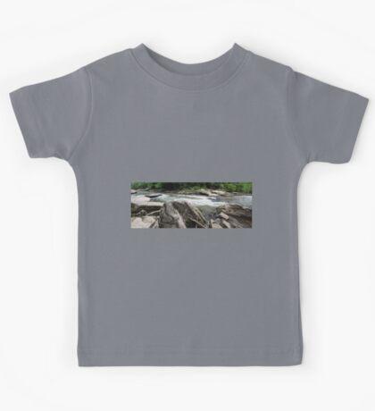 HDR Composite - River Rapids Kids Tee