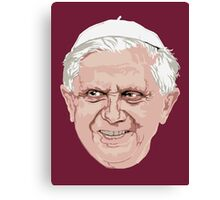 Pope Benedict Canvas Print