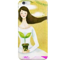 Wind Girl iPhone Case/Skin