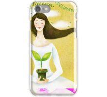 Wind Girl iPhone Case/Skin