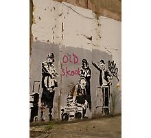 Old Skool - Banksy Photographic Print