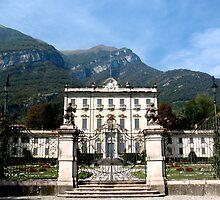 Villa at Tremezzo, Lake Como, Italy by jacqi