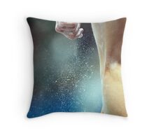 Dust storm. Throw Pillow