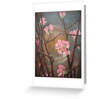 blooming night Greeting Card