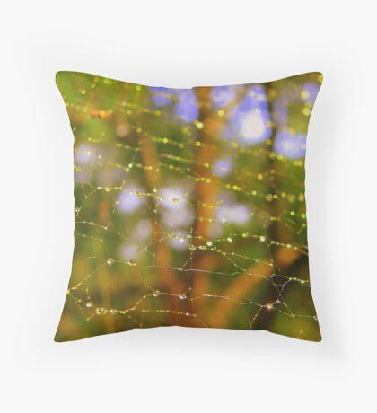 WEB ENVY Throw Pillow
