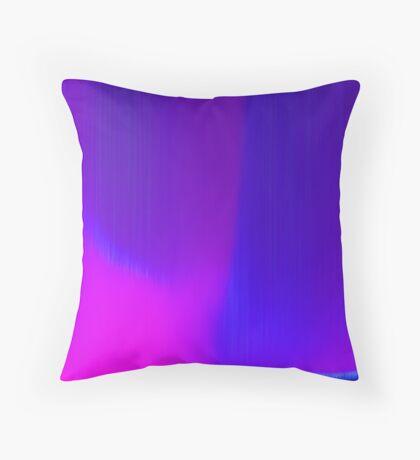 blue rain 2 Throw Pillow